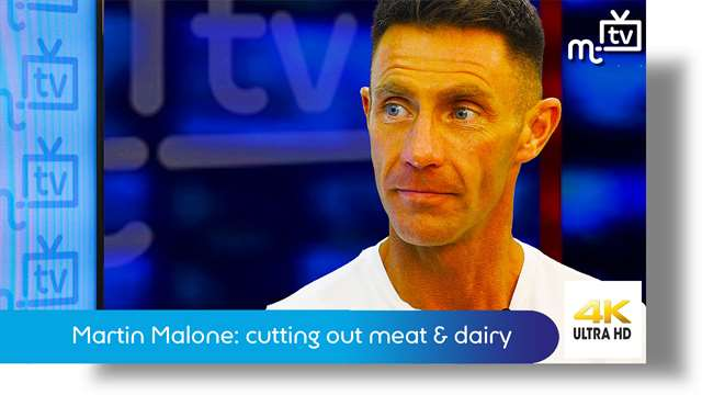Preview of - Martin Malone: cutting out meat & dairy products
