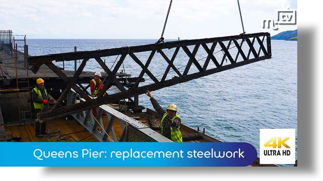 Preview of - Queens Pier: replacement steelwork