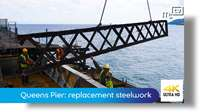 Queens Pier: replacement steelwork