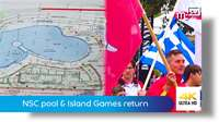 NSC pool & Island Games return to the Isle of Man