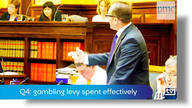 Preview of - Q4: gambling levy spent effectively