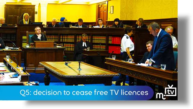 Preview of - Q5: decision to cease free TV licences