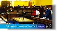 Q5: decision to cease free TV licences