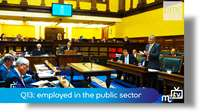 Q13: employed in the public sector