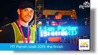 Manx Telecom Parish Walk 2019: the finish