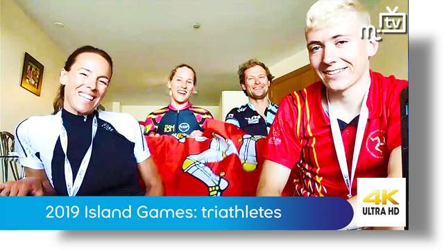 Preview of - 2019 NatWest Island Games: triathletes