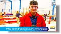 Inter-Island Games: mens gymnastics
