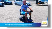 Bus ban on mobility scooters