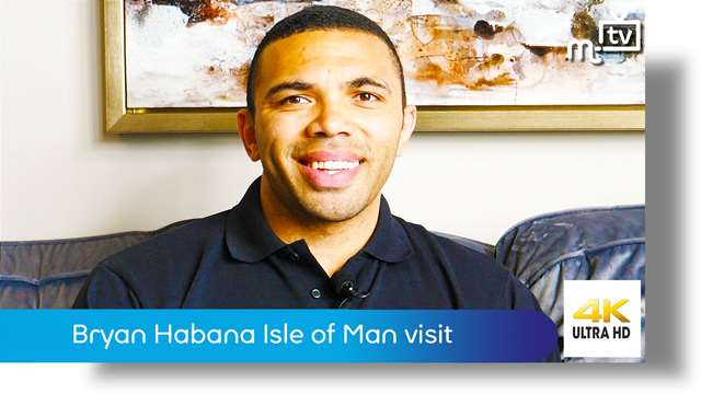 Preview of - Bryan Habana Isle of Man visit