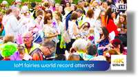 Isle of Man fairies world record attempt