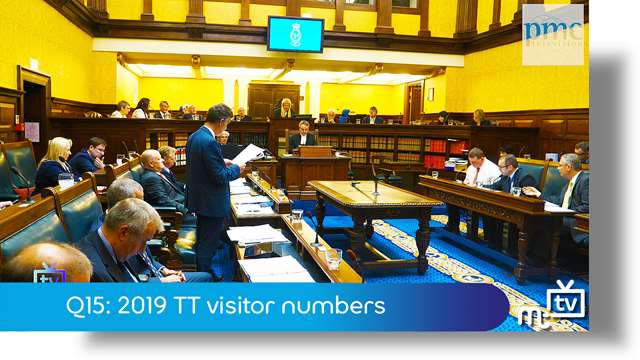 Preview of - Q15: 2019 TT visitor numbers