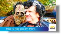 Hop Tu Naa Scream Trains: Great Laxey Mine Railway