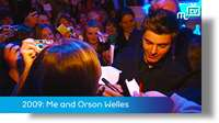 Archive 2009: Me and Orson Welles: Isle of Man premiere
