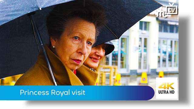 Preview of - Princess Royal visit