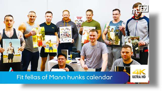 Preview of - Fit fellas of Mann hunks calendar 2020: launch