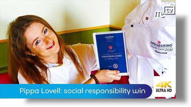 Preview of - Chef Pippa Lovell: social responsibility winner