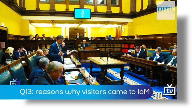 Preview of - Q13: reasons why visitors came to IoM