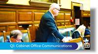 Q1: Cabinet Office Communications