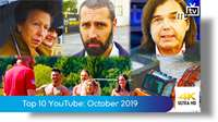 Top ten YouTube: October 2019
