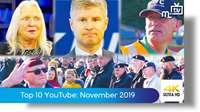 Top ten YouTube: November 2019