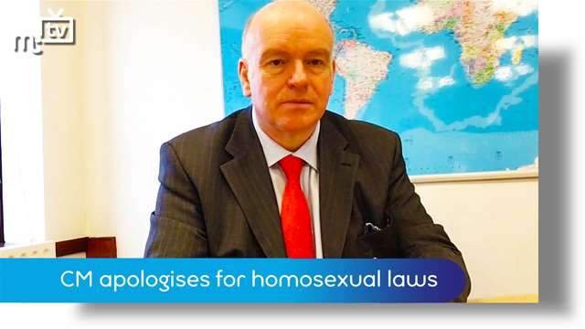 Preview of - Chief Minister apologises for Manx homosexual laws