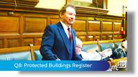 Q8: Protected Buildings Register