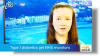 Type 1 diabetics get NHS monitors