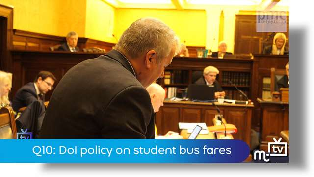 Preview of - Q10: DoI policy on student bus fares