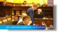 Q13: catchment policy for rural schools