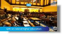 Q14: on-Island higher education