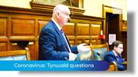 Emergency Tynwald session: coronavirus questions