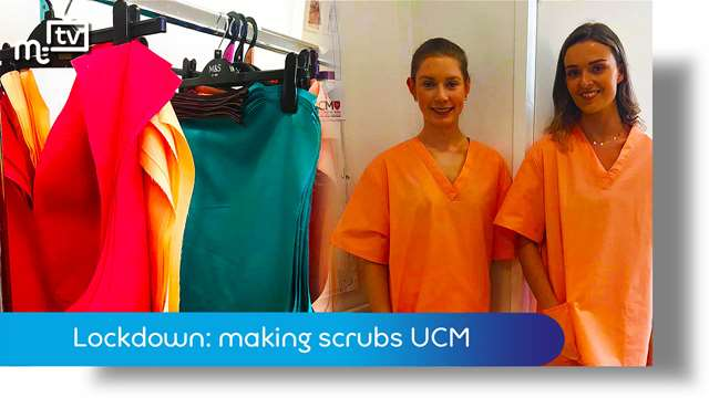 Preview of - Coronavirus lockdown: scrubs for health workers