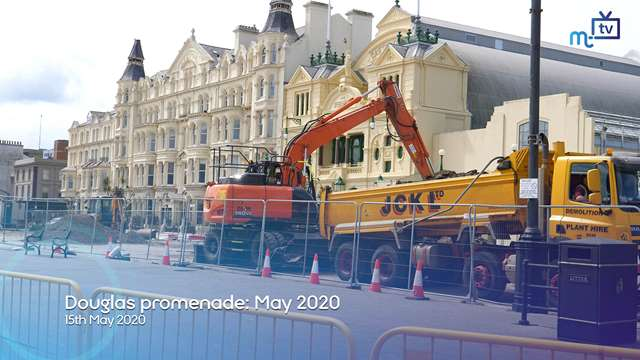 Preview of - Douglas promenade: May 2020