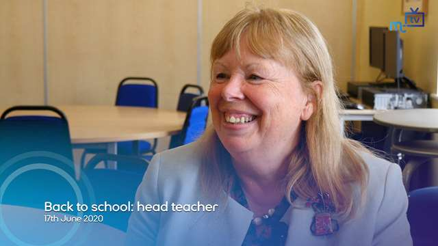 Preview of - Back to school: head teacher