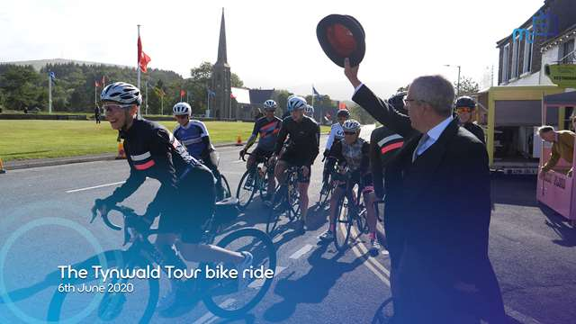 Preview of - The Tynwald Tour bike ride