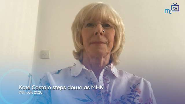 Preview of - Kate Costain steps down as MHK