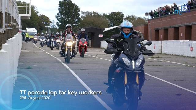 Preview of - TT parade lap for key workers