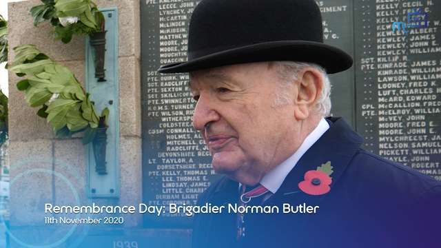 Preview of - Remembrance Day: Brigadier Norman Butler