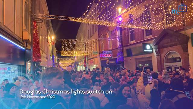 Preview of - Douglas Christmas lights switch on