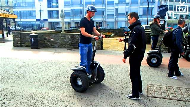 Preview of - Segways come to the Island